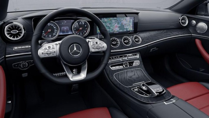 Mercedes-Benz E-Class Coupe (2018) Interior 009