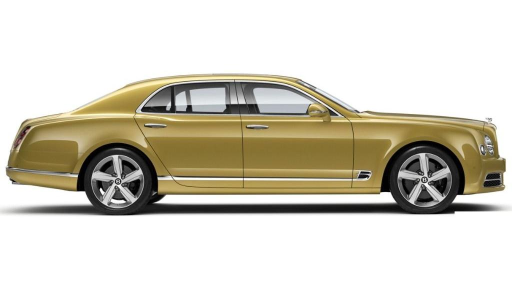Bentley Mulsanne (2018) Exterior 006