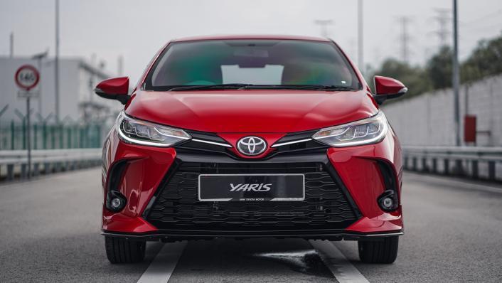 2021 Toyota Yaris 1.5G Exterior 008
