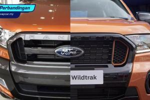 Baru vs Lama: Ford Ranger Wildtrak 2021 – Makin macho?
