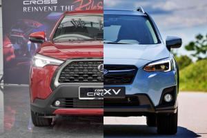 2021 Toyota Corolla Cross vs Subaru XV - TNGA vs AWD