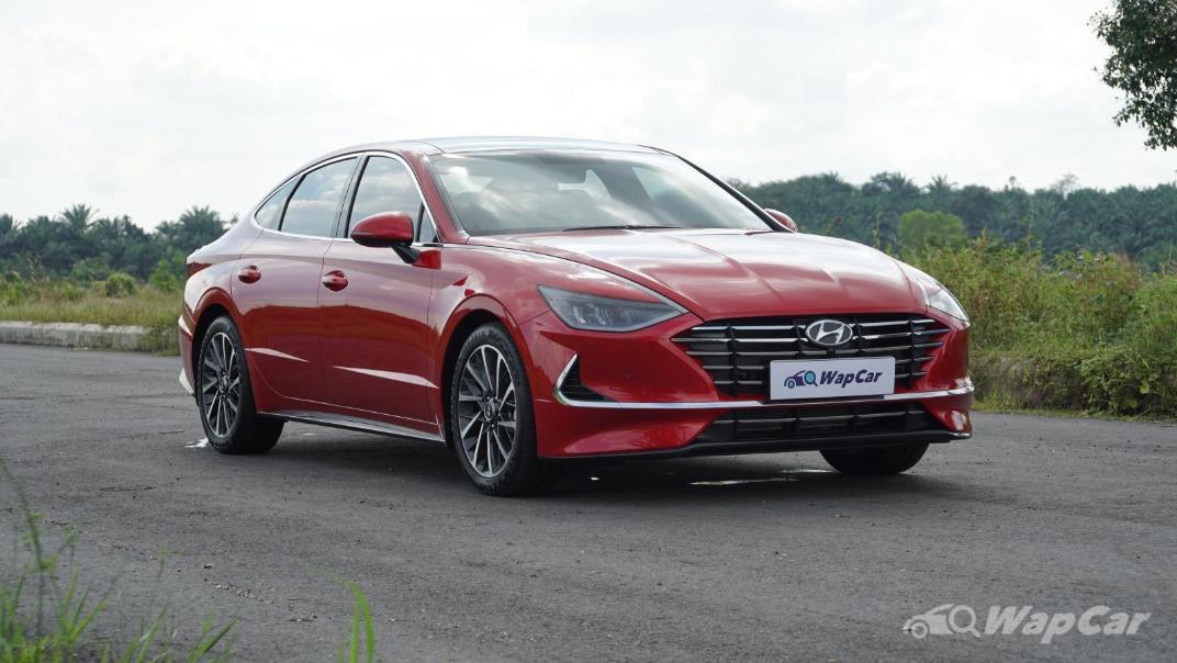 2020 Hyundai Sonata 2.5 Premium Exterior 012