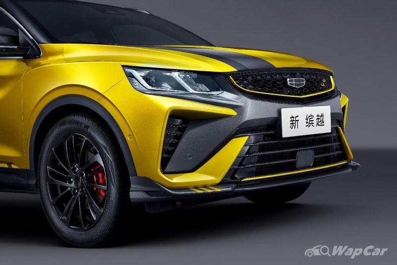 2021 Geely Binyue Pro facelift leaked - X50's cousin gets new looks, bigger 12.3 inch headunit 02
