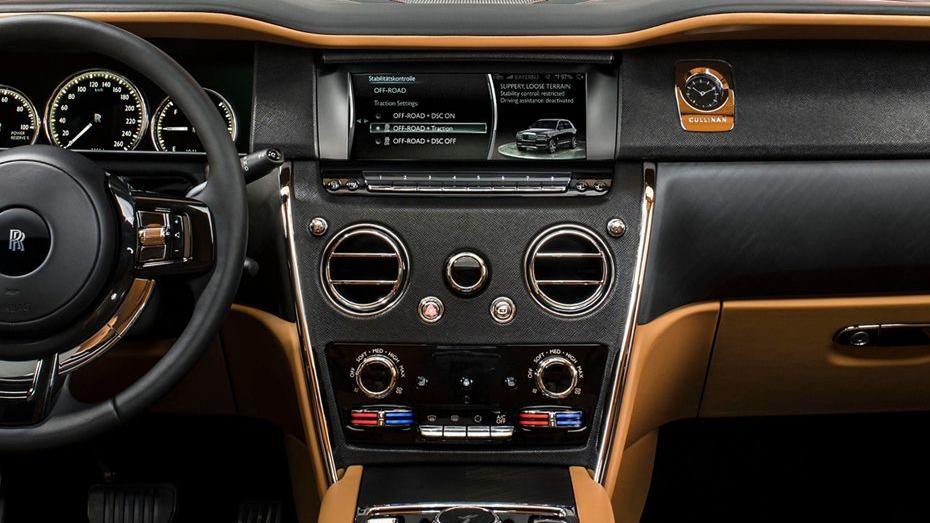 2018 Rolls-Royce Cullinan Cullinan Interior 003