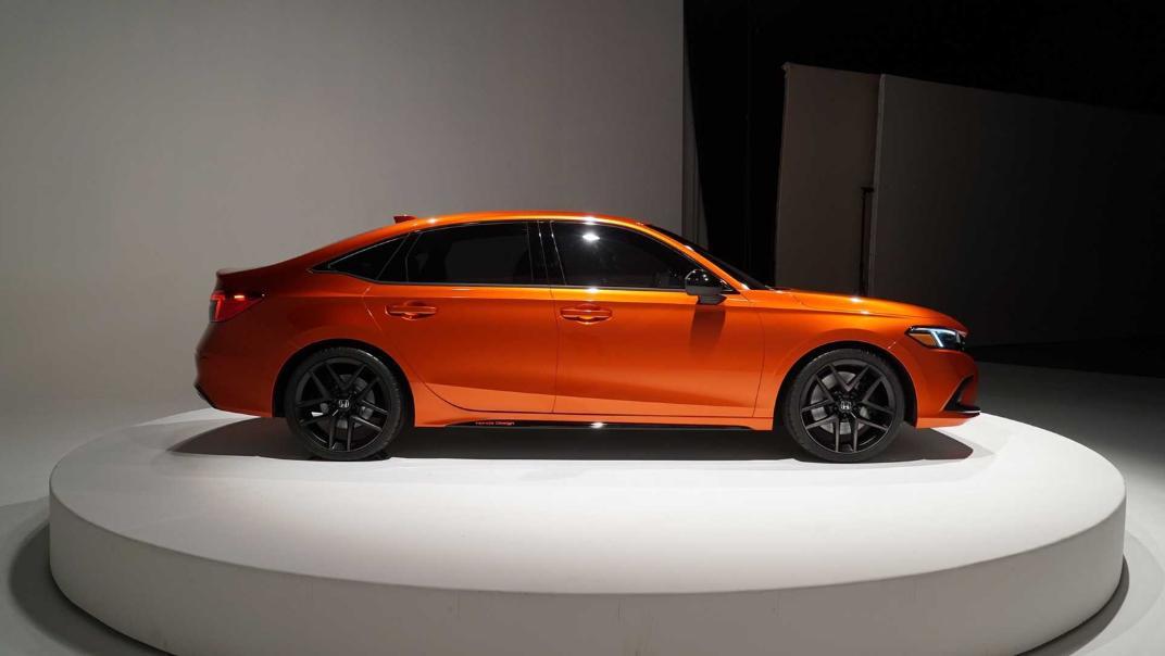 2021 Honda Civic International Version Exterior 004