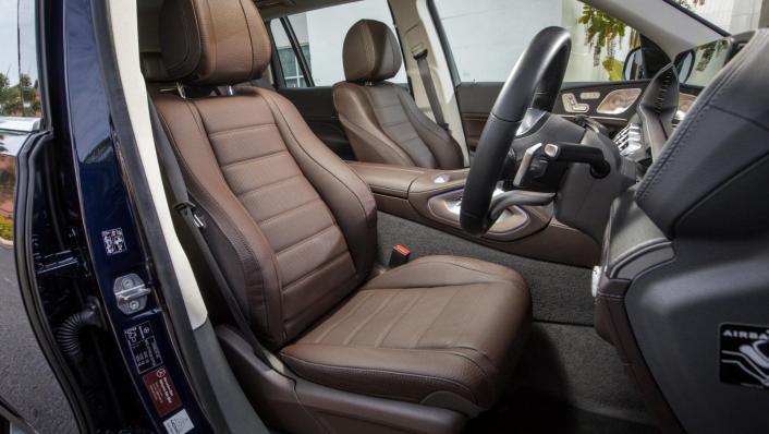 2020 Mercedes-Benz GLS 450 4Matic Interior 010