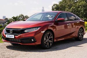 Ratings: 2020 Honda Civic 1.5 TC-P - Most spacious but not the most fuel efficient