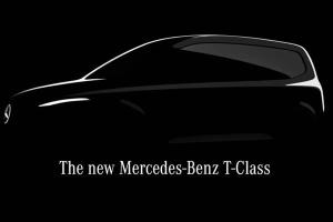 New Mercedes-Benz T-Class announced, small, family-focused MPV