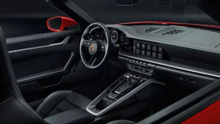 2019 Porsche 911 the new 911 Carrera Cabriolet Interior 001