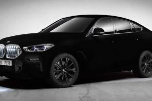 World's darkest BMW X6: The world's darkest? How!
