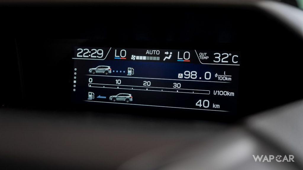 Subaru Forester (2019) Interior 016