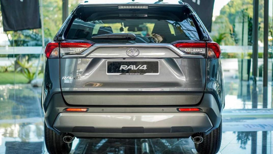 2020 Toyota RAV4 2.5L Exterior 057