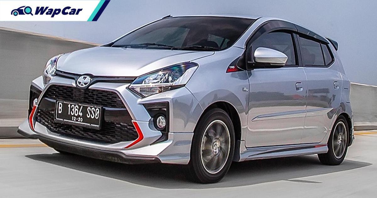 Toyota Agya TRD – saudara kembar Perodua Axia di Indonesia! 01