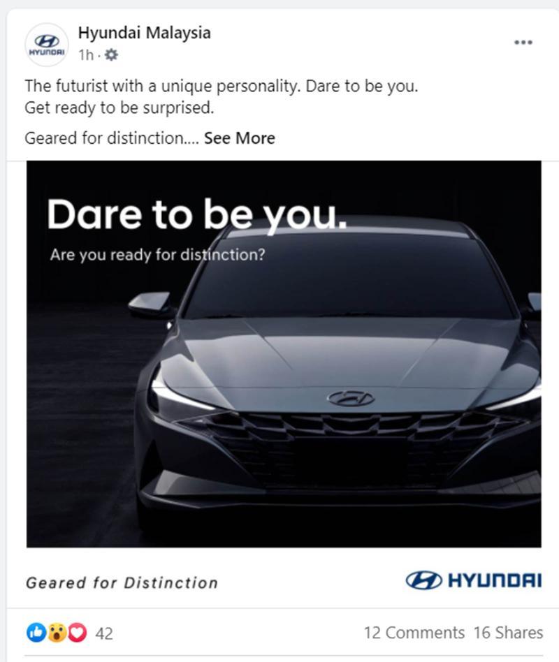 小心了Civic,大马Hyundai即将推出2021 Hyundai Elantra 02