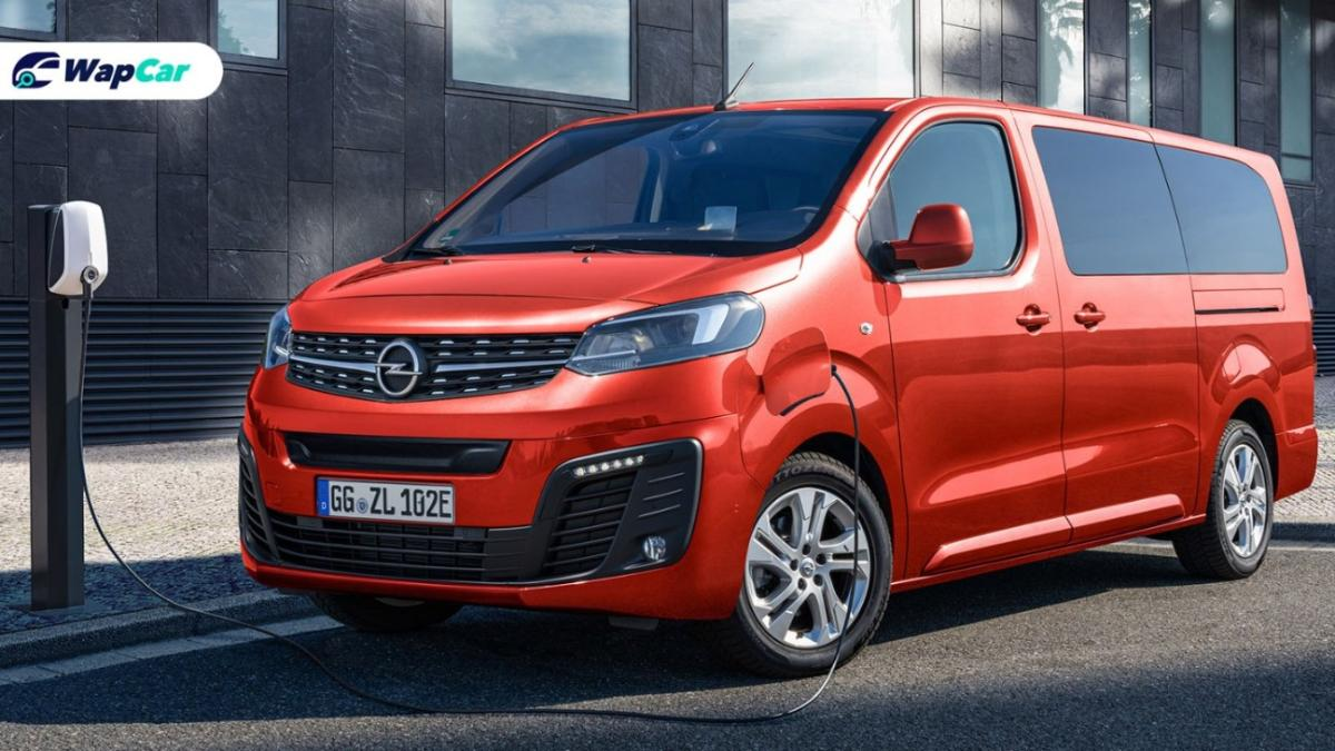New electric MPV Opel Zafira-e Life announced, 330 km range & 45 min charge time 01