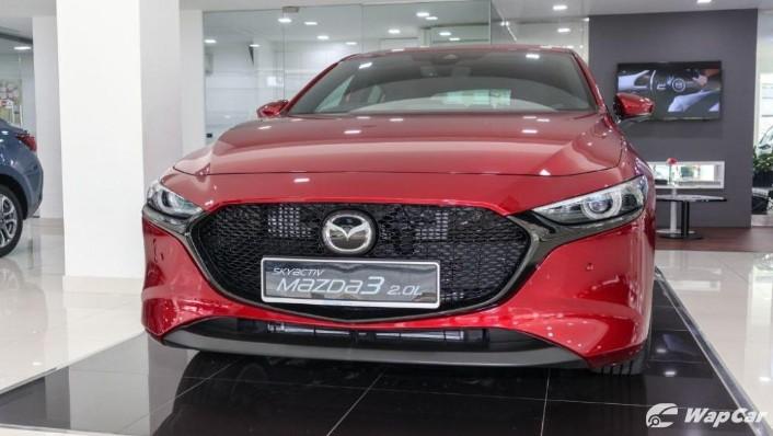 2019 Mazda 3 Liftback 2.0 SkyActiv High Plus Exterior 002