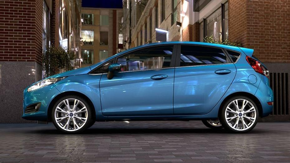 Ford Fiesta (2017) Exterior 009