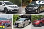 Top 5 kereta keluarga pilihan ibu bapa yang ada 'Baby Boss'