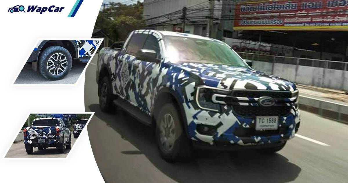 Spotted in Thailand, this is your next 2022 Ford Ranger; Triton, Hilux rival gets very American look 01