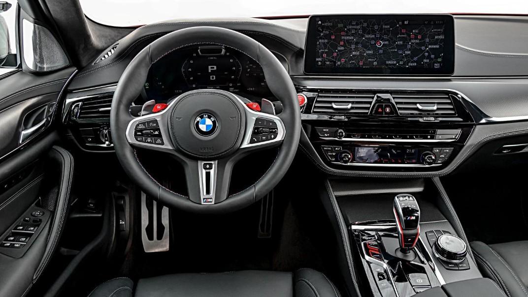 2020 BMW M5 Interior 002
