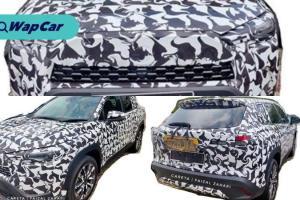 Diintip! Toyota Corolla Cross 2020 diuji di jalanraya Malaysia