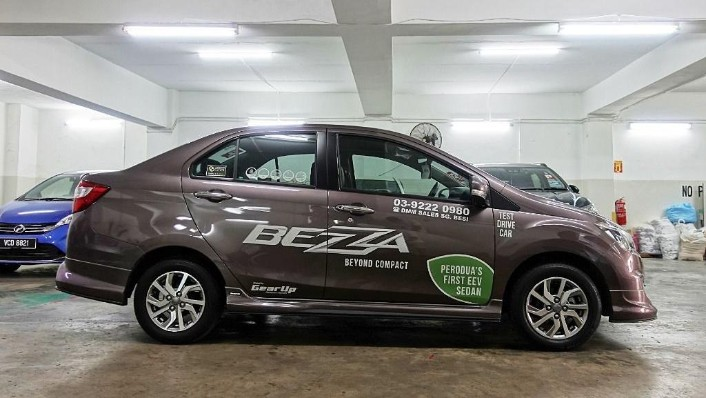 2018 Perodua Bezza 1.3 Advance Exterior 004