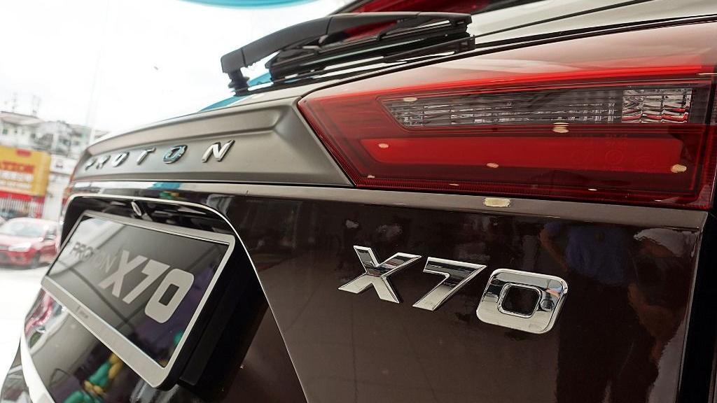 2018 Proton X70 1.8 TGDI Premium 2WD Exterior 036