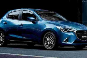Bet you didn't know that the Mazda 2 started life as a minivan!