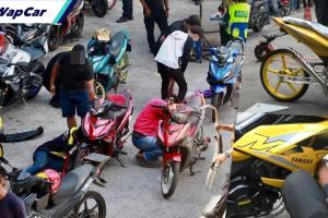 Polis sita Yamaha YSuku 'auto show', salah tetap salah!