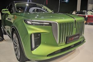The Hongqi E-HS9 could scare Rolls-Royce with that large grille