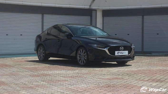 2019 Mazda 3 Sedan 2.0 SkyActiv High Plus Exterior 003