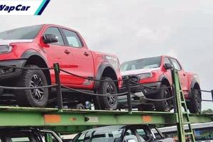 Ford Ranger Raptor di Malaysia bakal hadir dengan pilihan warna merah True Red?