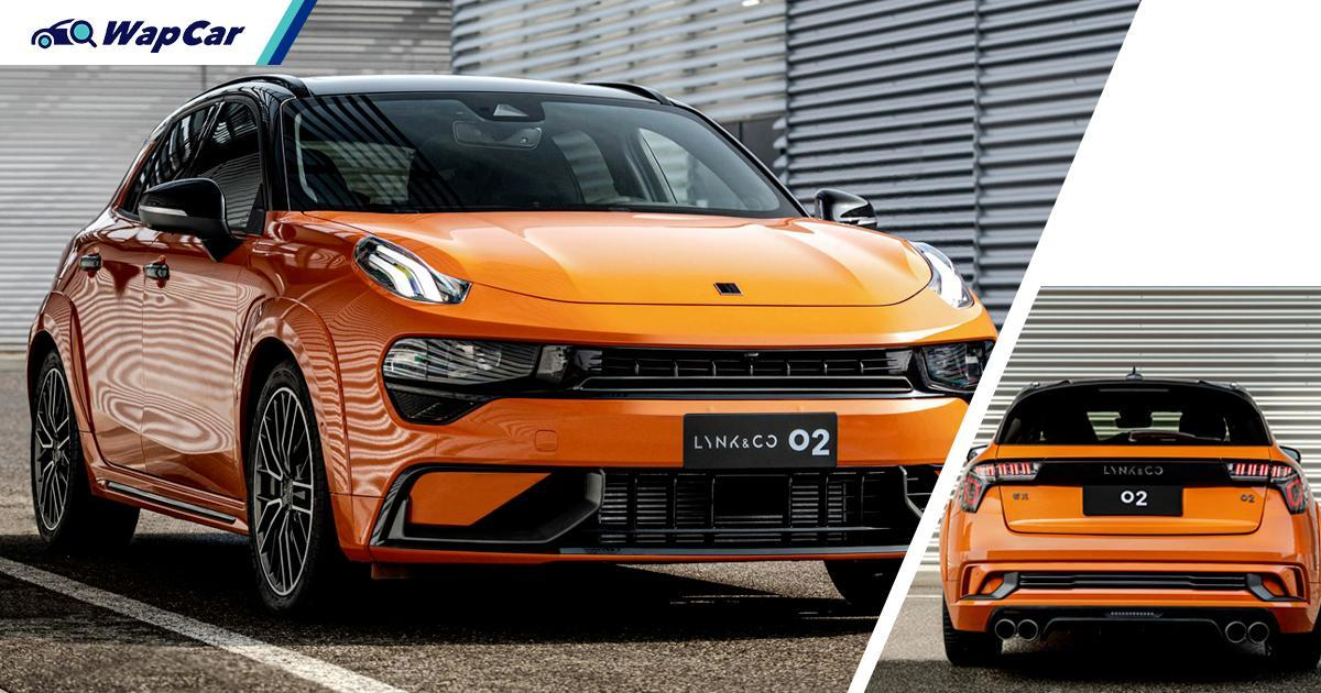 New Lynk & Co 02 hatchback officially unveiled; Takes aim at VW Golf GTI 01