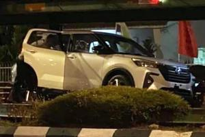 Spied: First look at undisguised Perodua Ativa (D55L)!