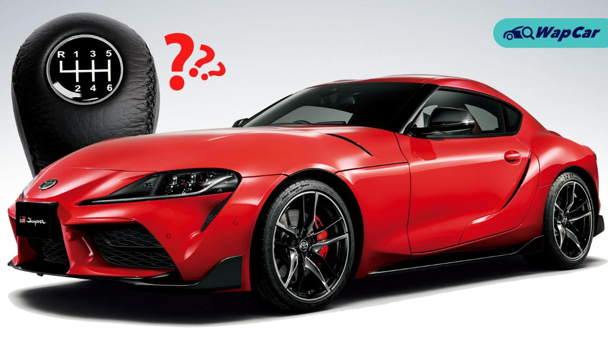 Is that a manual Supra? Toyota Supra might come with a manual transmission 01