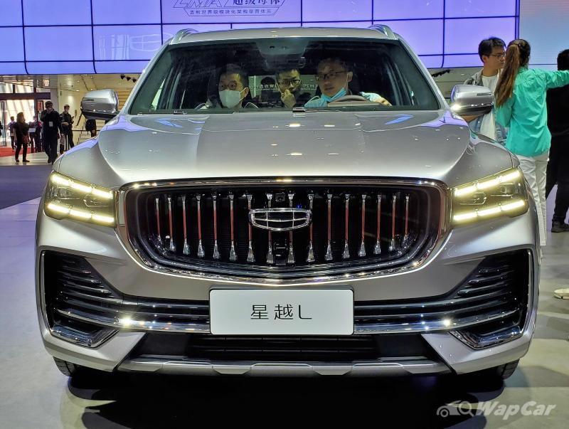 Up close and personal with the 2021 Geely Xingyue L at the Shanghai Auto Show! 02