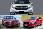 Honda CR-V vs Proton X70 vs Mazda CX-5: Which SUV has the best ADAS?