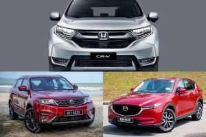 Honda CR-V vs Proton X70 vs Mazda CX-5: Which SUV has the best ADAS?