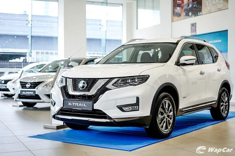 2019 Nissan X-Trail front view