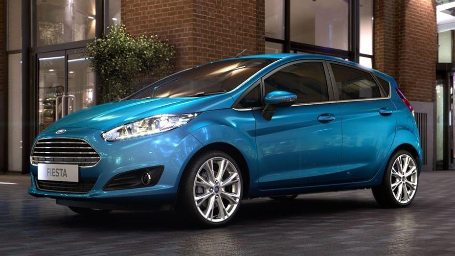 Ford Fiesta (2017) Exterior 001