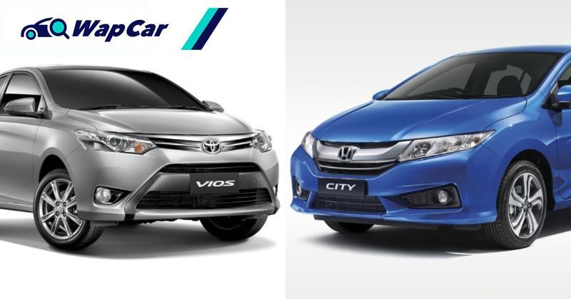 Toyota Vios vs Honda City:哪一辆车更保值? 01