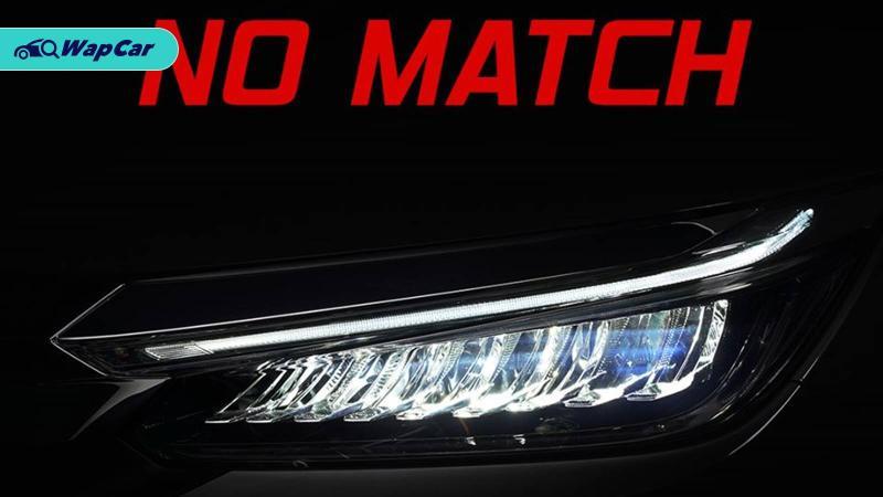 Honda acah imej lampu baharu Honda City 2020 serba baru 01