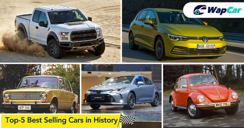 Top 5 best selling cars in history