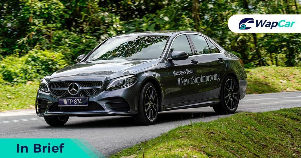 Mercedes-Benz C300 facelift W205 Malaysia