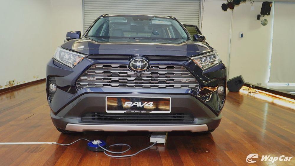 2020 Toyota RAV4 2.5L Exterior 084
