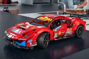 Lego unveils Ferrari 488 GTE, 1,688 pieces, yours for RM 800