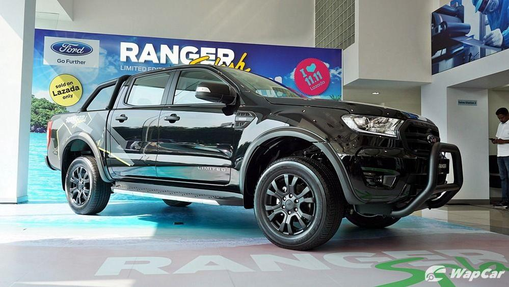 2019 Ford Ranger 2.0L XLT Limited Edition Exterior 004