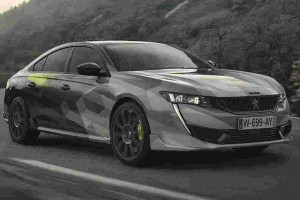 Peugeot 508 Sport Engineered teased with more pictures