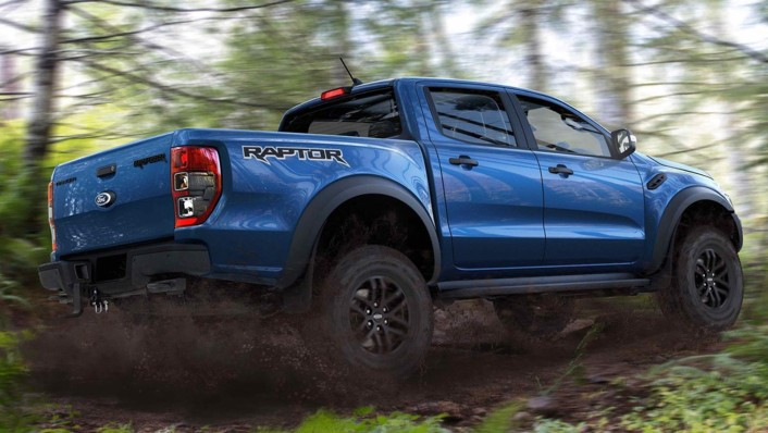 2020 Ford Ranger Raptor 2.0 Bi-Turbo Exterior 003