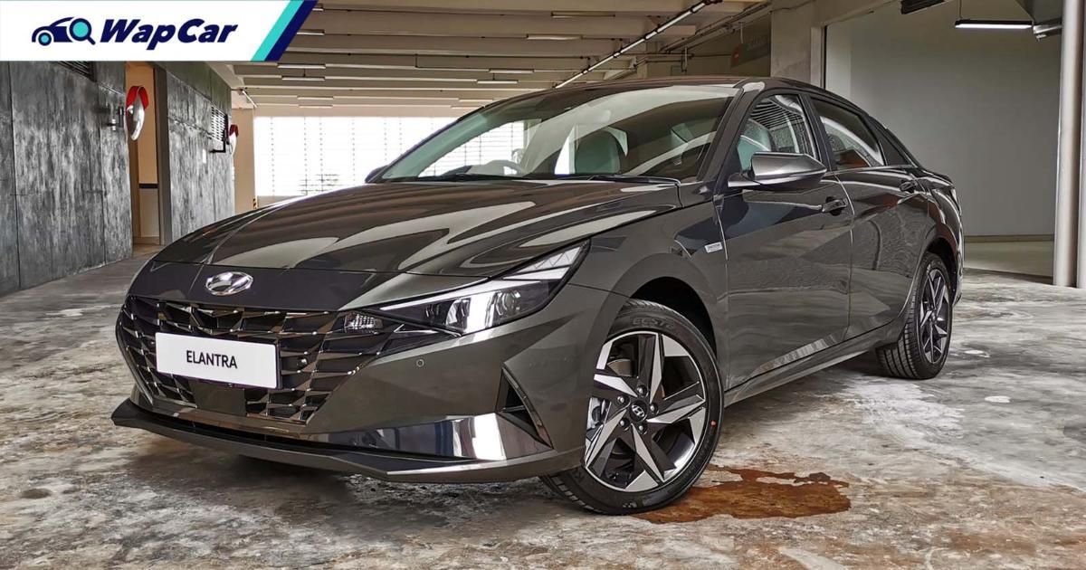 All-new 2021 Hyundai Elantra previewed in Malaysia - full SmartSense ADAS, CBU Korea 01